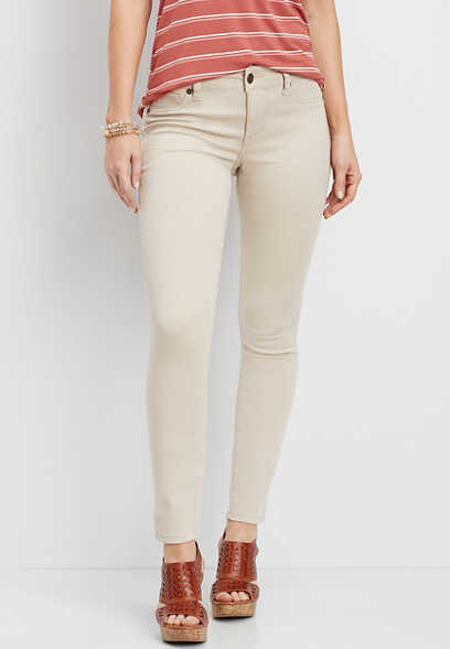DenimFlex™ khaki color jegging