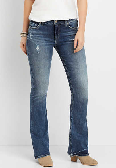 Silver Jeans Co.® Avery high rise dark wash bootcut jean