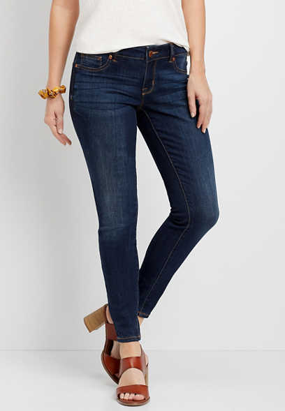 DenimFlex™ super dark blast jegging