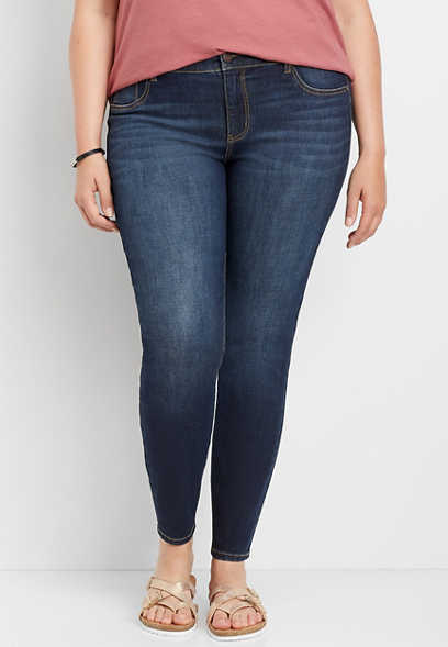 plus size DenimFlex™ dark blast jegging