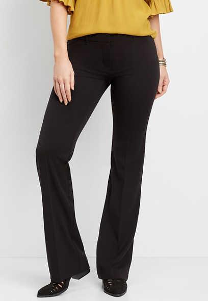 05e46706c8b6 classic black flare pant