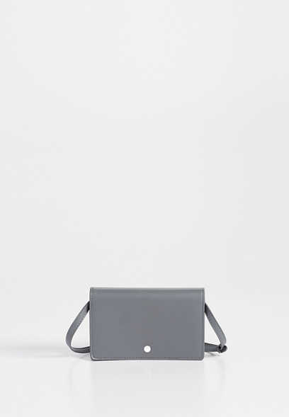 solid stadium event crossbody bag
