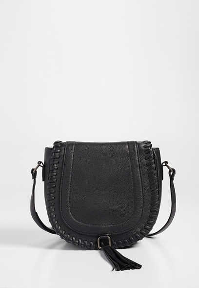 4879ccfe34 whipstitch flap crossbody bag