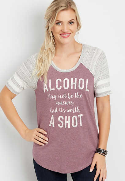alcohol may not be the answer but it