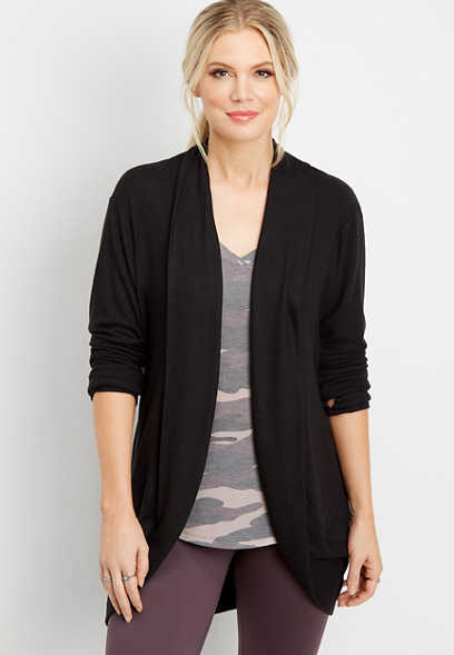 cocoon long sleeve cardigan