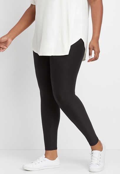 plus size high rise ultra soft legging