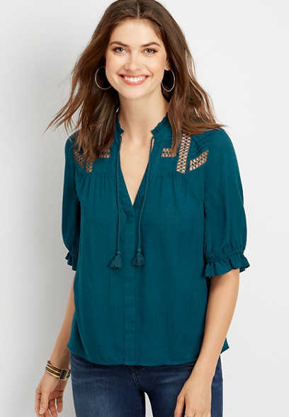 824f98a0a73d New Arrivals Tops | Women's New Arrivals | maurices