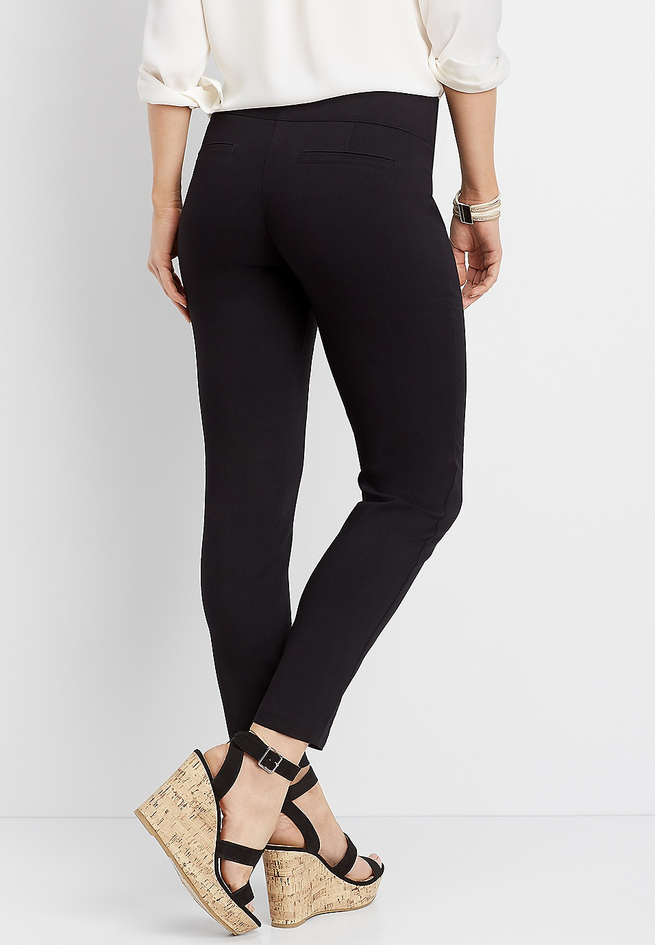 1a487a8ab0b black stretch skinny ankle pant   maurices