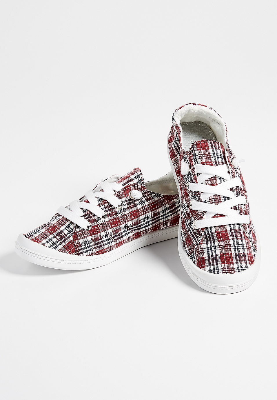 90db10531995c Mariah plaid lace up sneaker