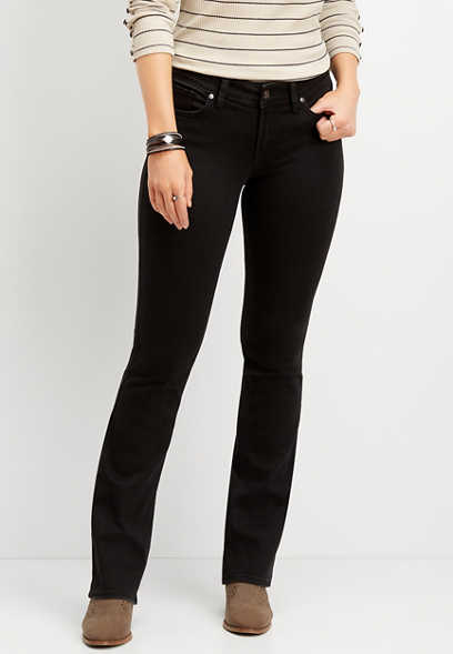 Silver Jeans Co.® Suki black slim boot jean