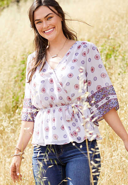 9d9cd10df37 Fashion Tops For Women | maurices