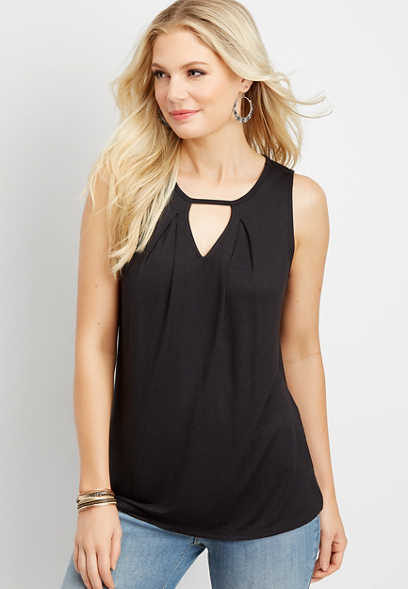 24/7 solid keyhole neck tank