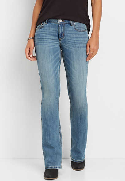 DenimFlex™ medium wash bootcut jean