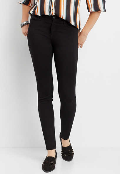 Flying Monkey™ Black Super Soft Skinny Jean