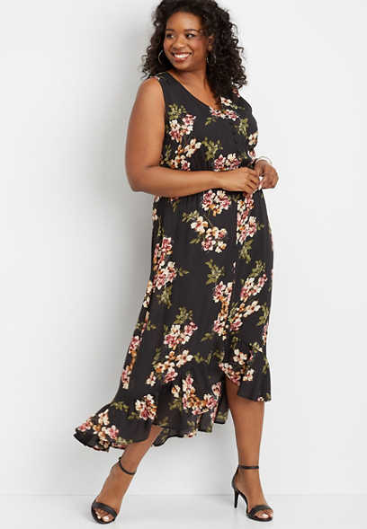 7e78619ed31 Plus Size Dresses | Maxi, Casual, And Sweater | maurices