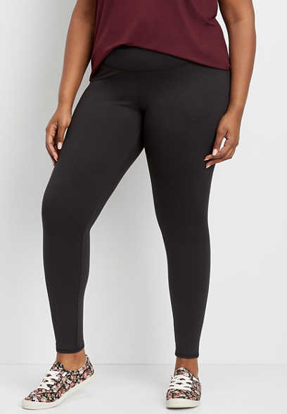 plus size full length active legging