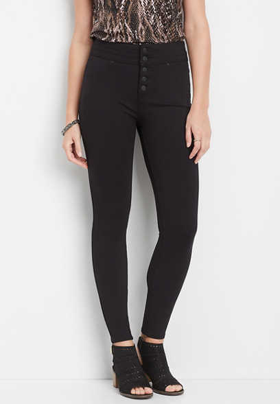 ultimate sculpt ponte high rise skinny ankle pant
