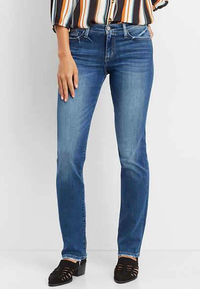 Flying Monkey™ medium wash straight leg jean