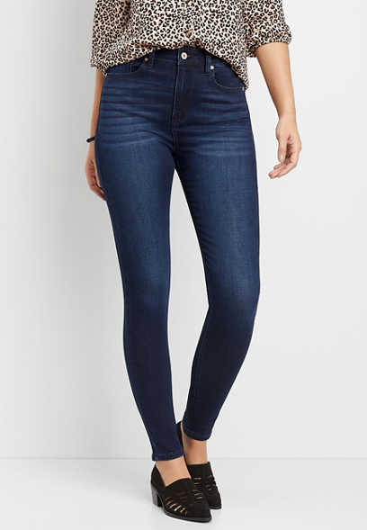 KanCan™ high rise dark wash skinny jean