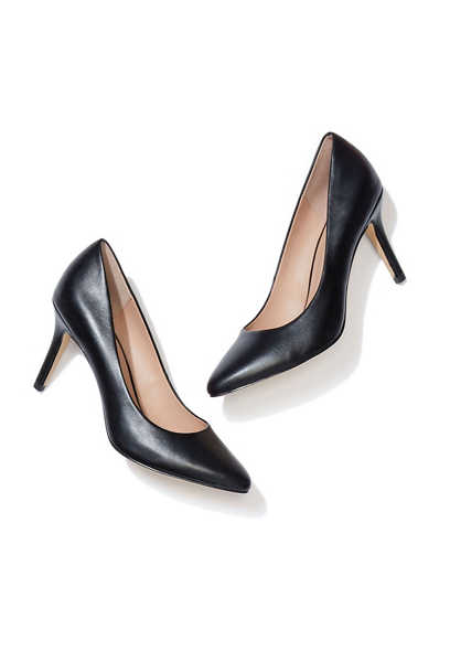 Ivy cushion sole closed toe pump