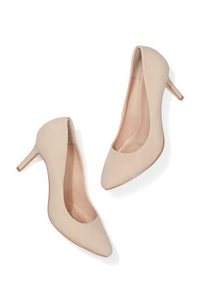 Ivy cusion sole closed toe pump