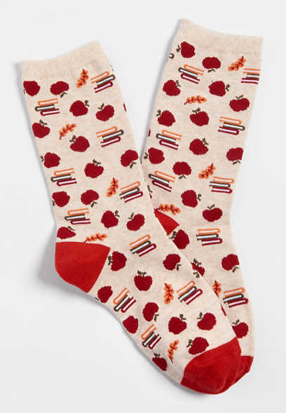 apple crew socks
