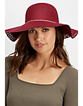 perforated floppy hat