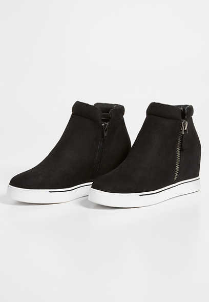 Breanna hightop wedge sneaker