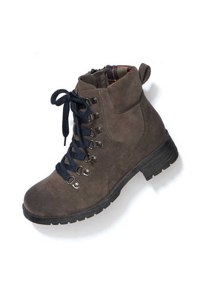 Willa plaid lined hiker boot
