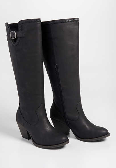 Diana braid trim tall boot