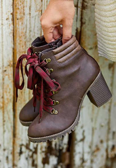 Westyn heeled hiker boot