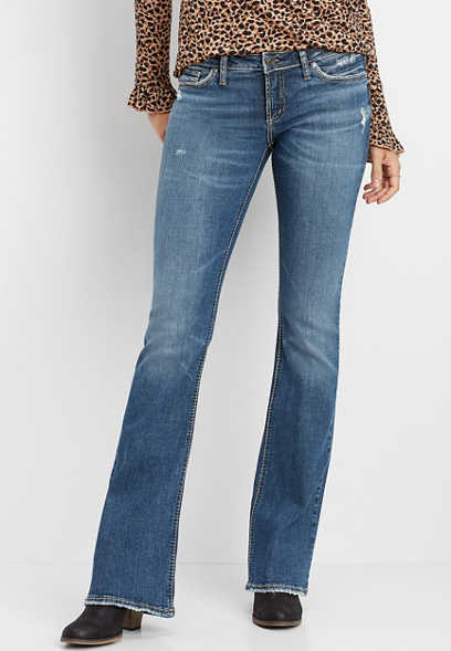 Silver Jeans Co.® Tuesday low rise boot cut jean