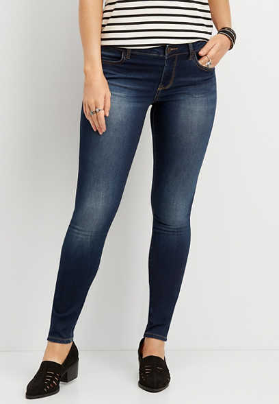 DenimFlex™ super soft dark wash jegging