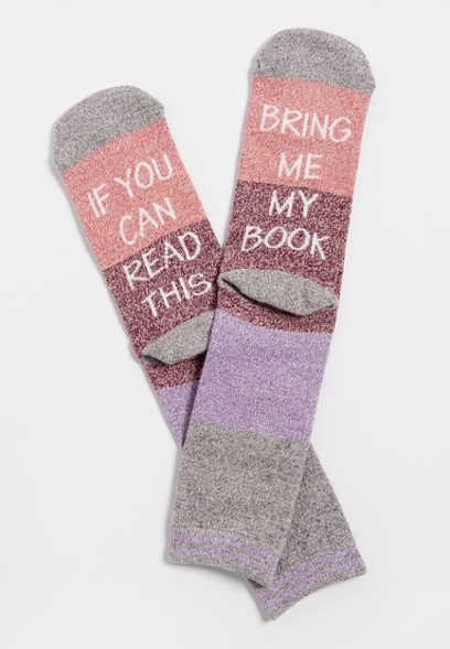 book crew socks