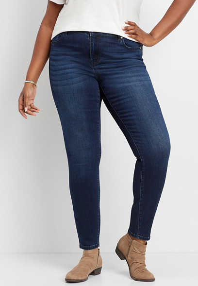 plus size KanCan™ dark wash stretch skinny jean