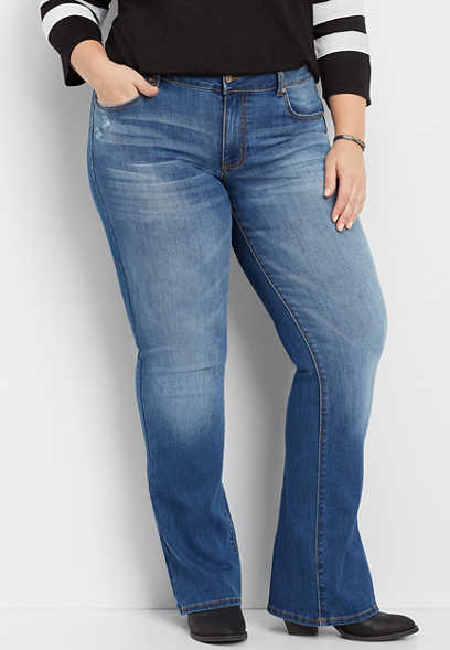 plus size KanCan™ medium wash bootcut jean