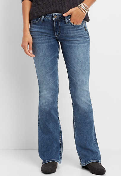 Silver Jeans Co.® Suki medium wash bootcut jean