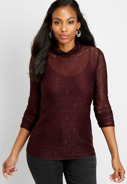 002a5307709 New Arrivals Tops | Women's New Arrivals | maurices
