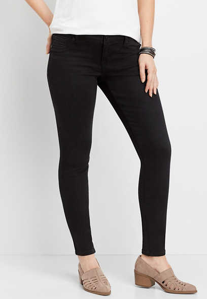 DenimFlex™ low rise black jegging