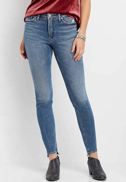 Silver Jeans Co.® most wanted step hem skinny jean