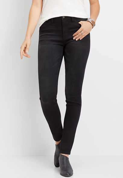 KanCan™ high rise black washed skinny jean