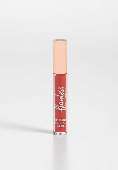 flawless fresh peach lip gloss