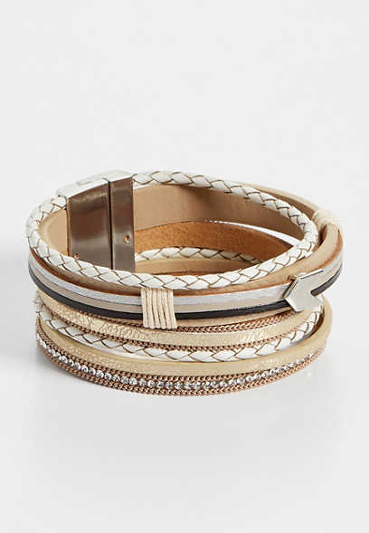 neutral tone magnetic bracelet