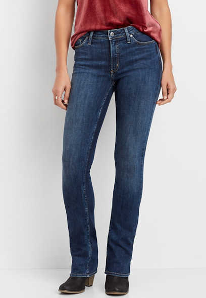 Silver Jeans Co.® most wanted medium wash bootcut jean