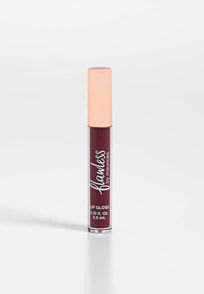 flawless merlot lip gloss