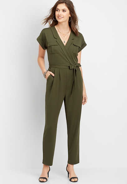 utility pocket jumpsuit