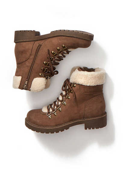 Wynter sherpa hiker boot