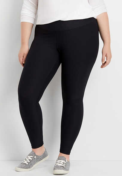 plus size waistband sculpt legging