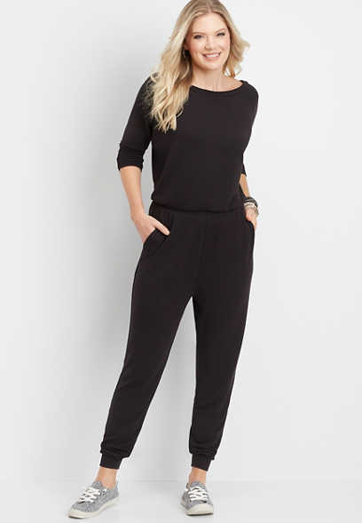 athleisure pocket jumpsuit
