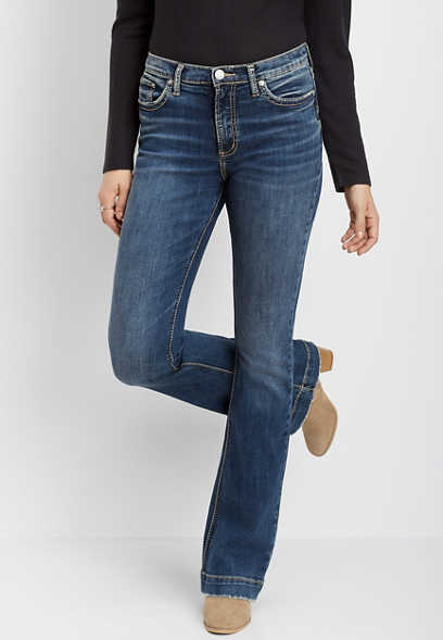 Silver Jeans Co.® Calley super high rise bootcut jean